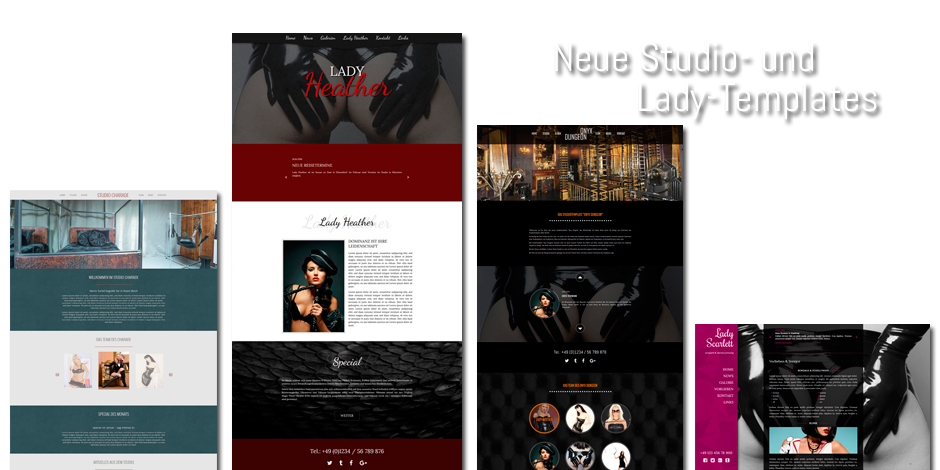 Webdesign - Neue Templates 2016
