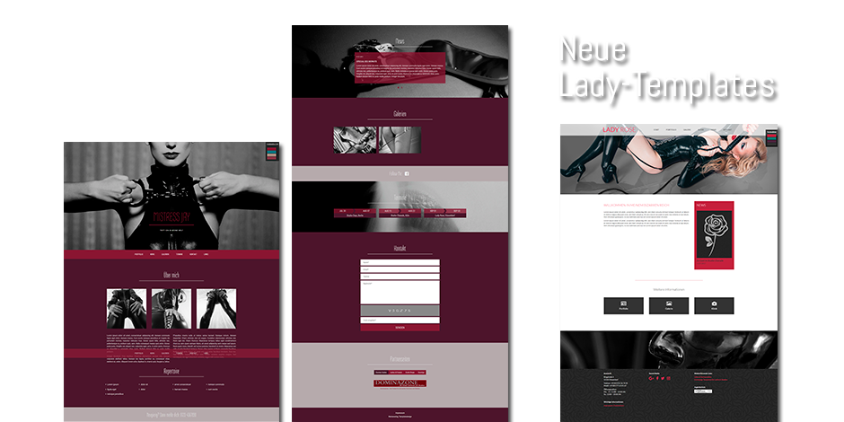 Webdesign - Neue Templates 2017