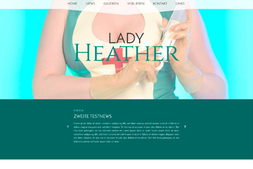 Lady-Template Heather Light